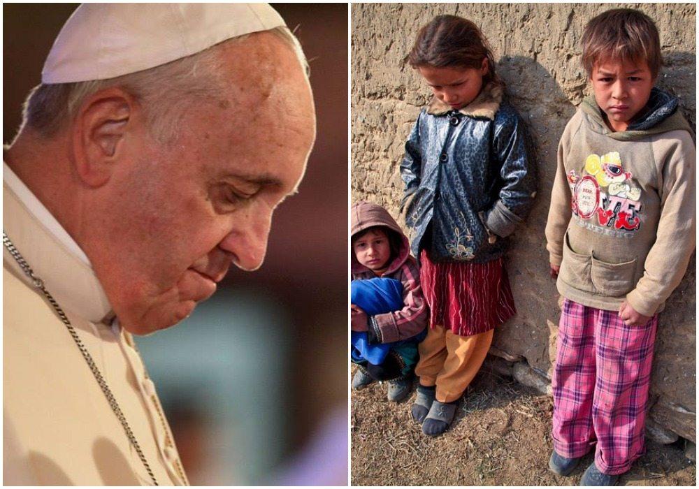 Papież Franciszek podczas pasterki, w mocnych słowach, przestrzega przed obojętnością