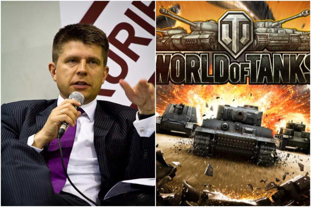 Petru: Ministrowi proponujemy grę World of Tanks