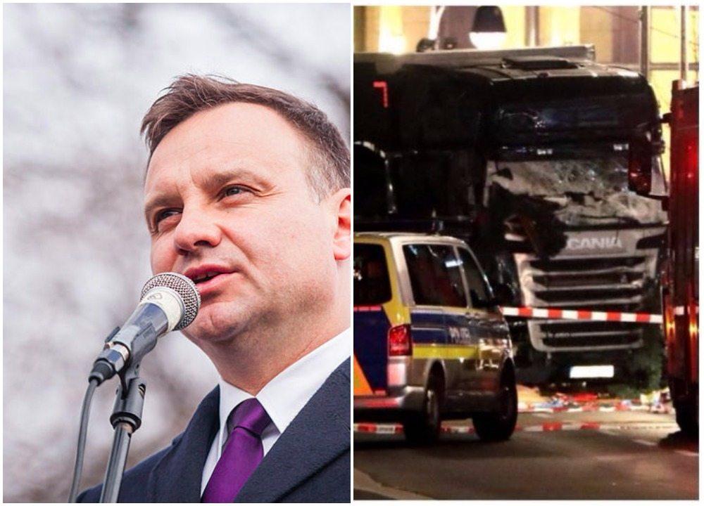 Znakomity gest prezydenta w sprawie kierowcy z Berlina, Łukasza Urbana