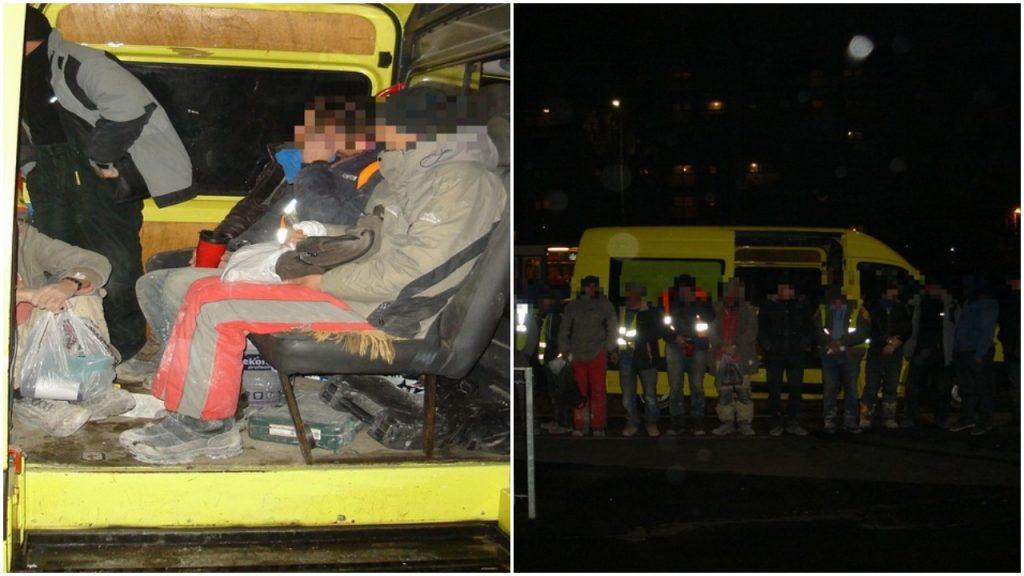 W siedmiu na jednym miejscu. 21 Ukraińców jechało 3-osobowym autem