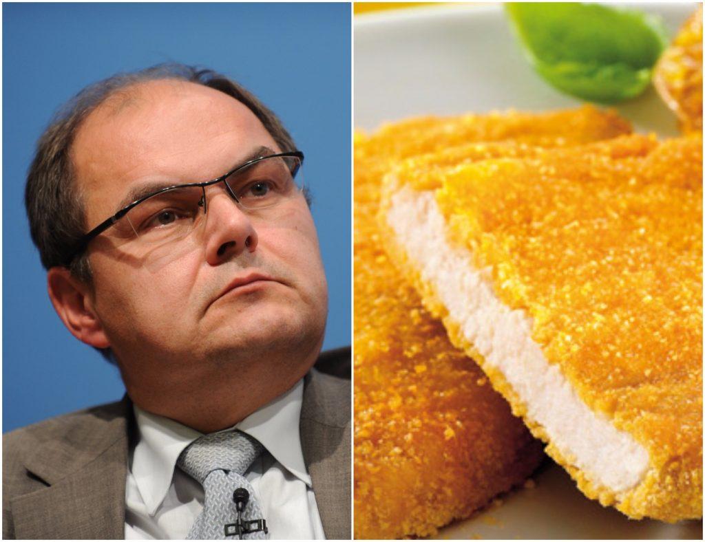 """Minister idzie na wojnę z wegetariańskim sznyclem. """"Powariowali!"""""""