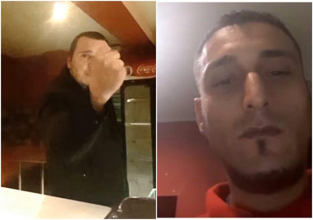 Kebab imigranta zniszczony przez Polaka. Mamy film z awantury z wewnątrz (video)