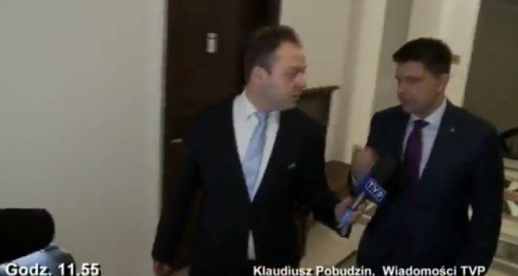 Petru kontra dziennikarz TVP. Były dwie mocne riposty, kto wygrał? (VIDEO)
