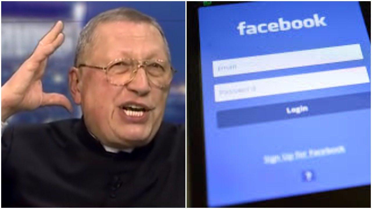 """Ksiądz żąda od PiS, by zrobił """"porządek"""" z Facebookiem. """"My jesteśmy Panami, a nie jakaś swołocz"""""""