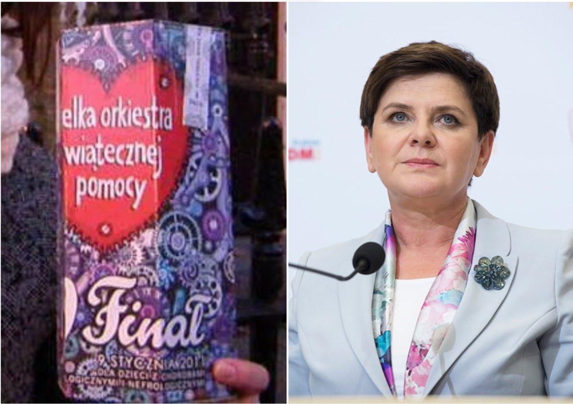 Dziennikarze zapytali premier Szydło o WOŚP. Odpowiedź ich zaskoczyła