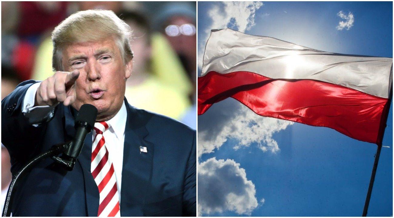 """Wielka zmiana? Trump chce być """"przyjacielem Polski"""" i daje temu pierwsze znaki"""