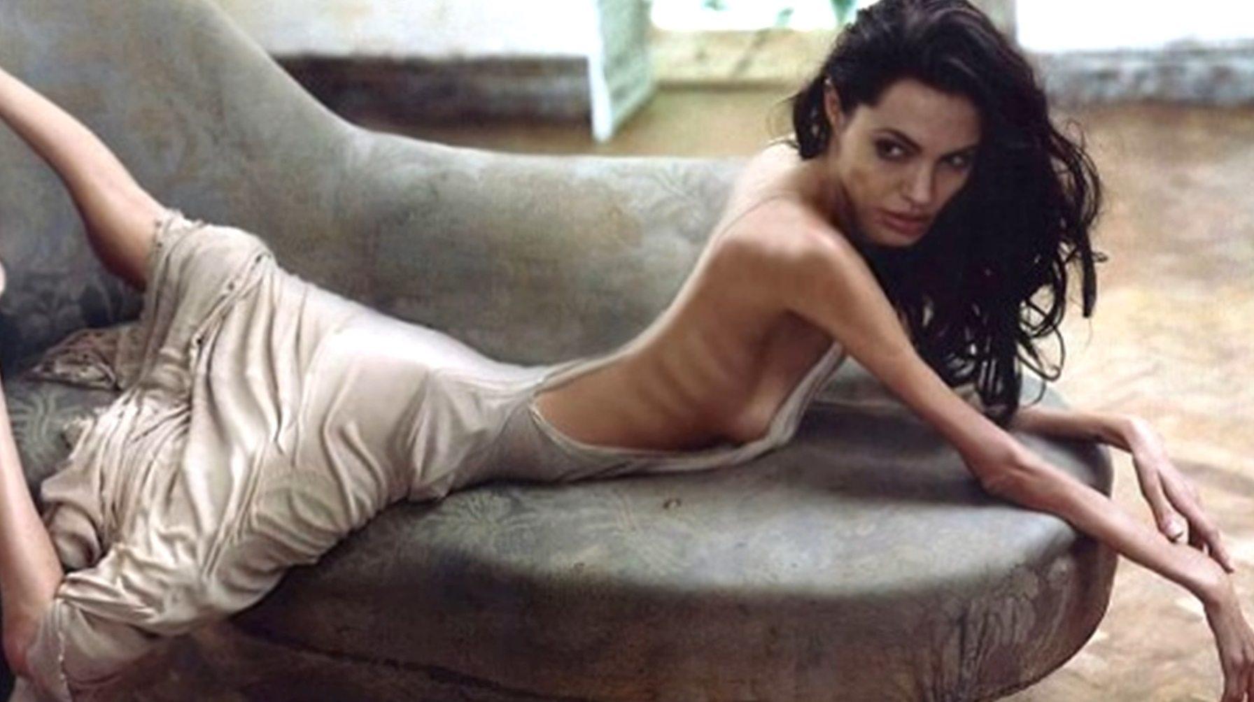 Horror Angeliny Jolie. Muszą ją karmić przez rurkę, jest na granicy śmierci (FOTO)