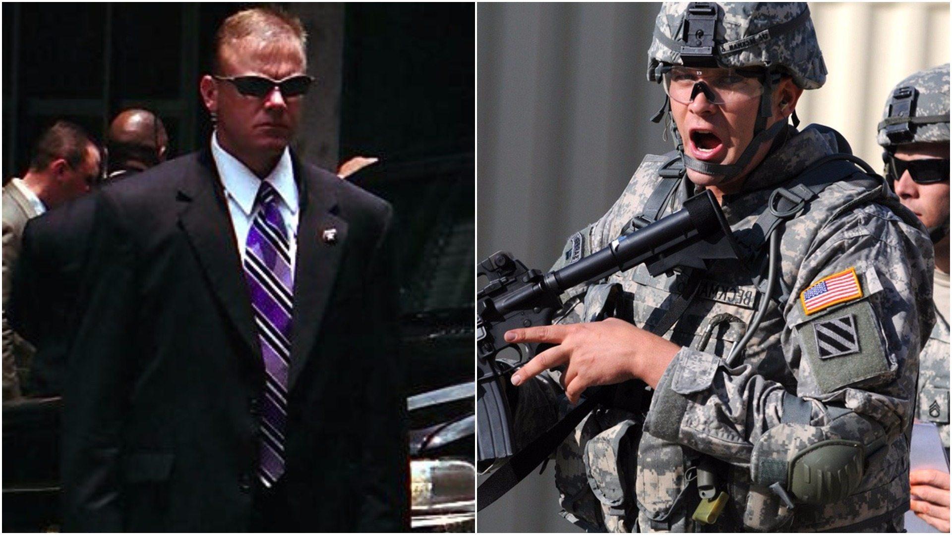BOR przeszukuje amerykańskich żołnierzy. Znaleziono niebezpieczne narzędzie