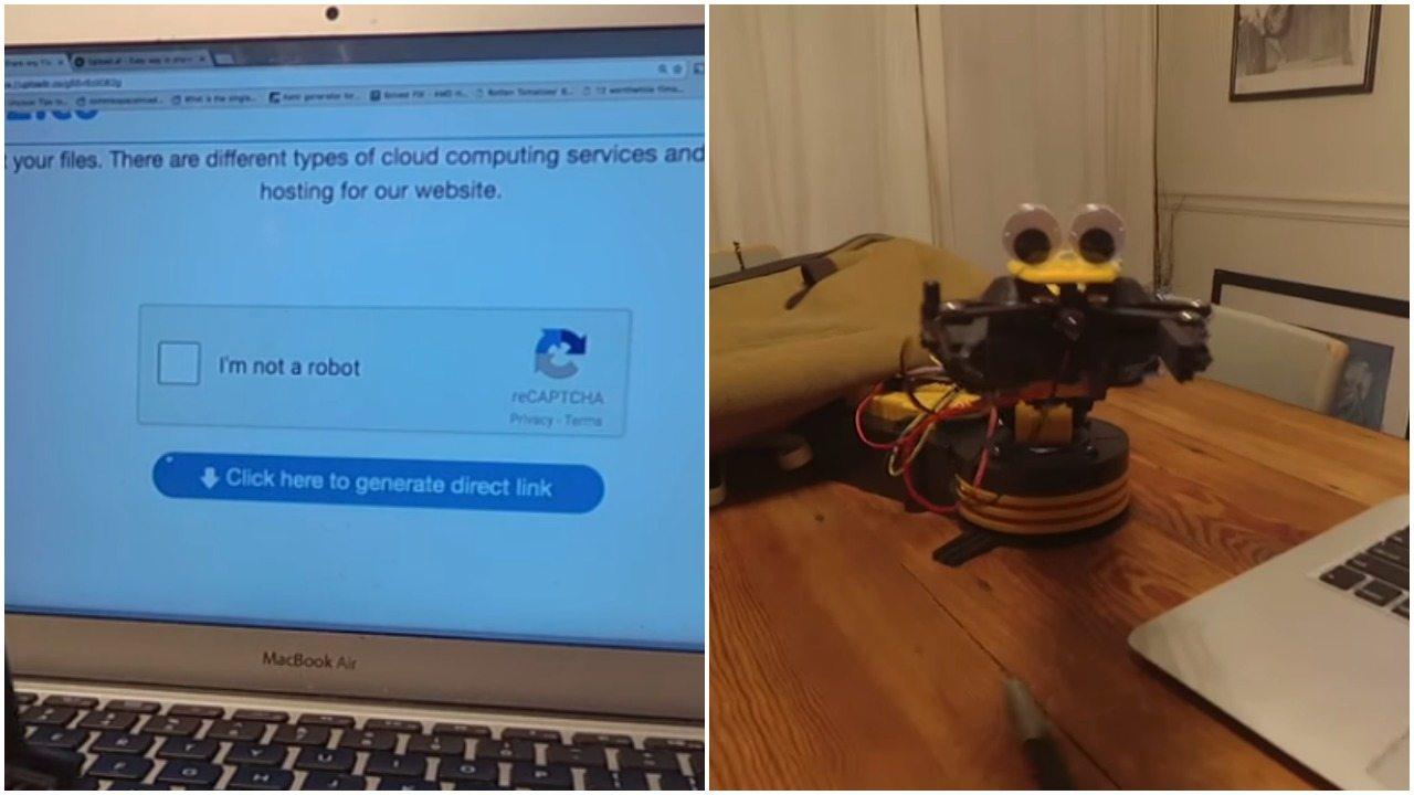 """Hit sieci. Robot vs CAPTCHA. """"Udowodnij, że nie jesteś robotem"""" (video)"""