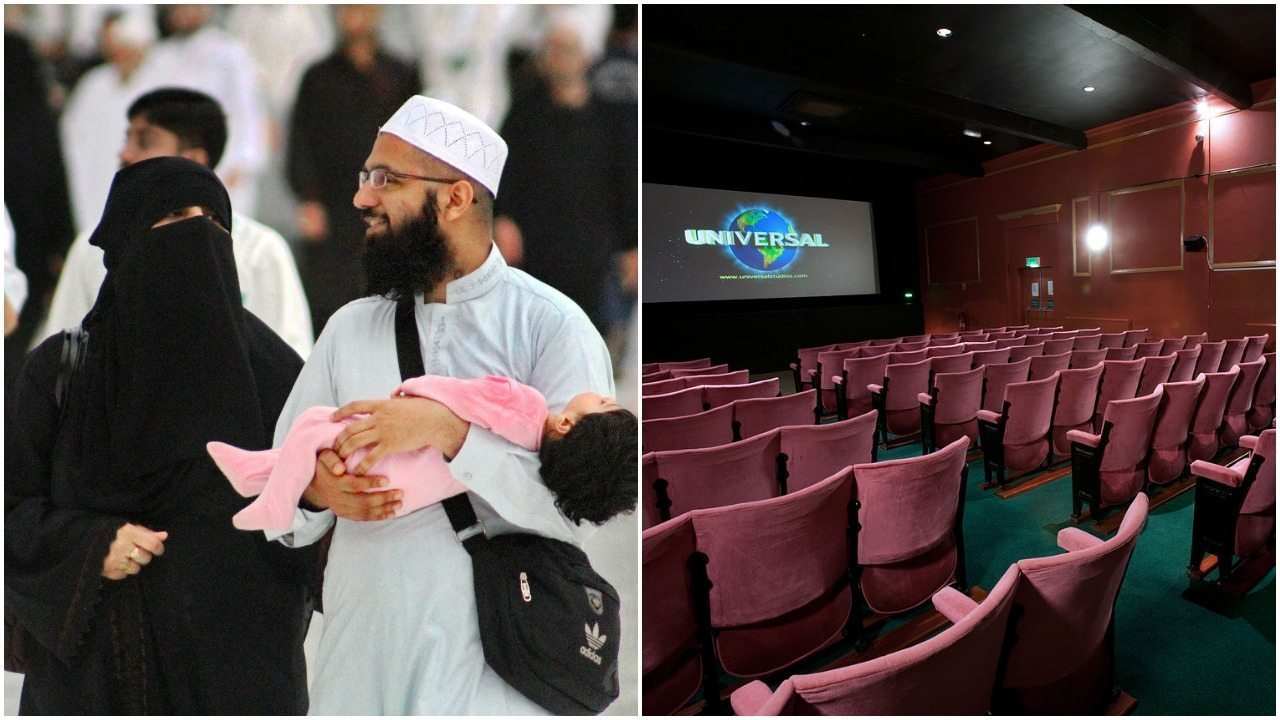 Muzułmanie w kinie porozumiewali się na migi. Widzowie uciekli przerażeni