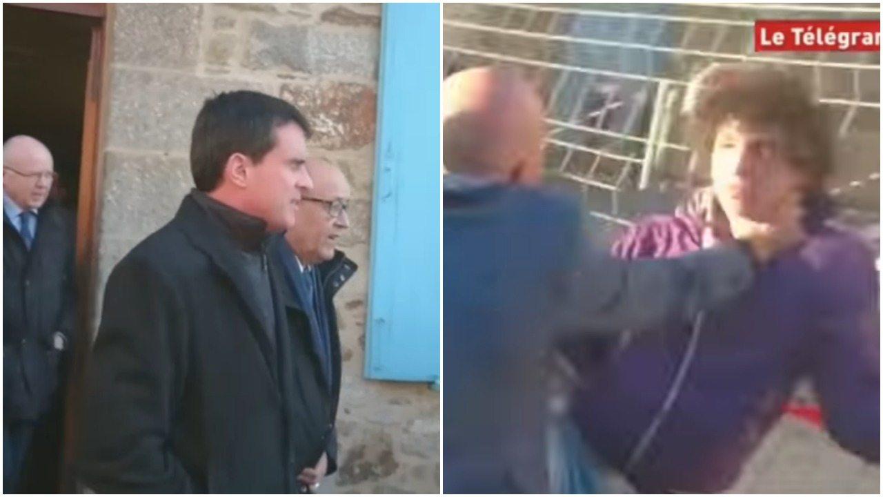Były premier spoliczkowany na ulicy (video)