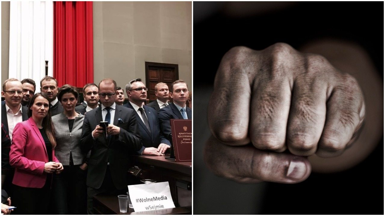 Czy posłów opozycji usunąć siłą? Mamy wyniki sondażu