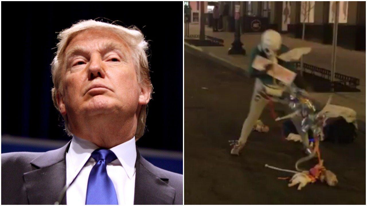 To narkotyki czy czary? Niepokojący taniec przeciwniczki Trumpa (video)
