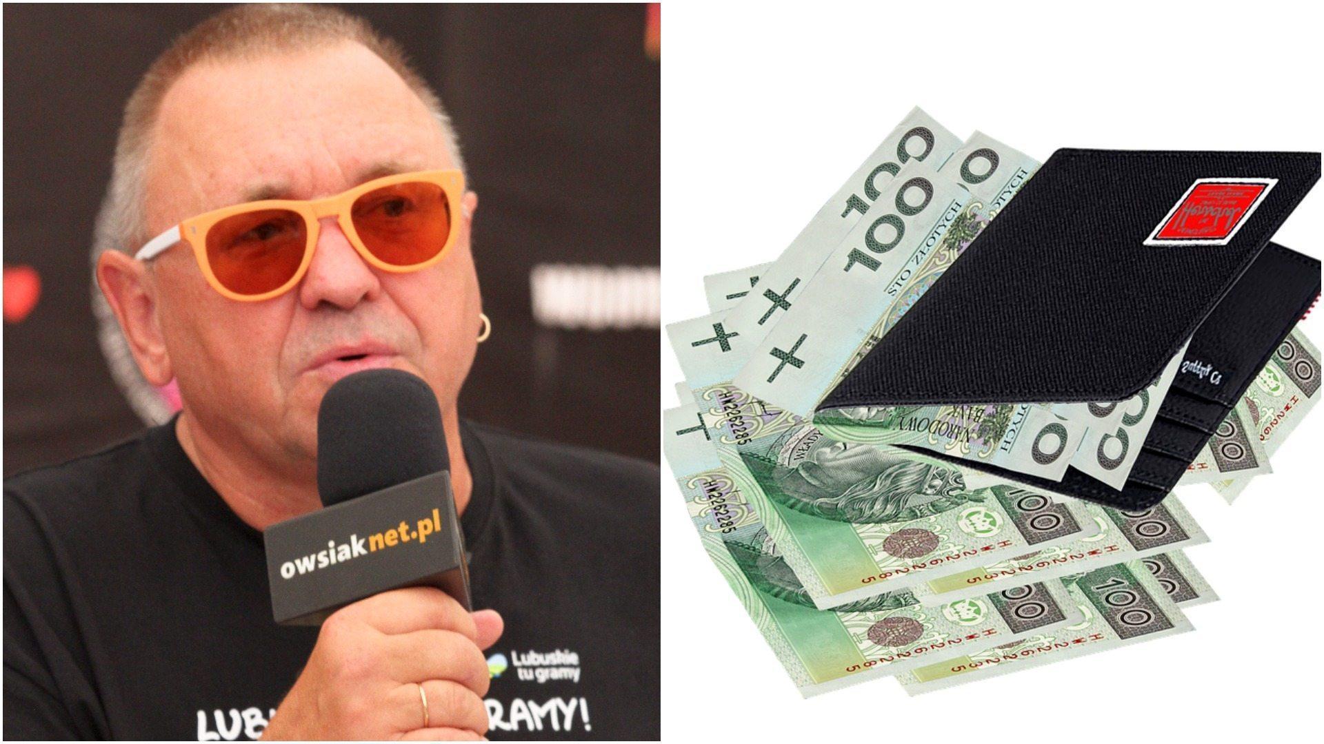 Jerzy Owsiak ujawnił ile zarabia miesięcznie