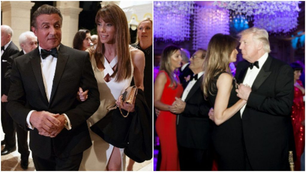 Sylwestrowy melanż u Donalda Trumpa, bogactwo i zabawa. Działo się (FOTO)