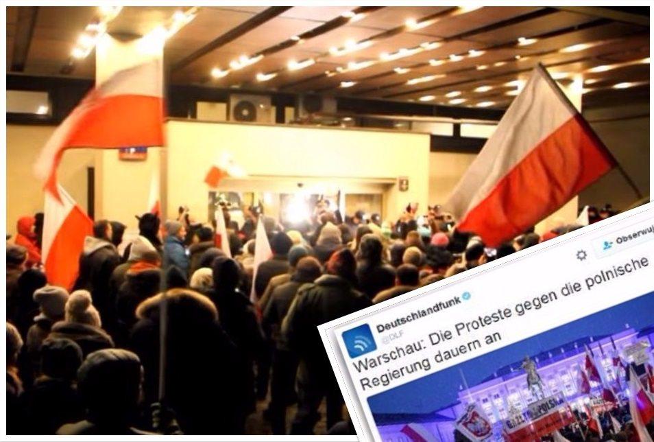 Potężna manipulacja niemieckich mediów nt. sytuacji w Polsce