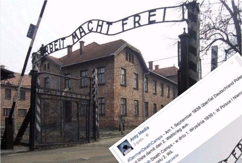 Skandaliczne zachowanie Facebooka. Na siłę przekonuje, że obozy śmierci były polskie!