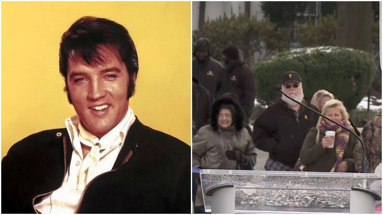 """Zwolennicy teorii spiskowej o żywym Presleyu przedstawili dowód. """"Właśnie zdradzili go ochroniarze"""" (zdjęcia)"""