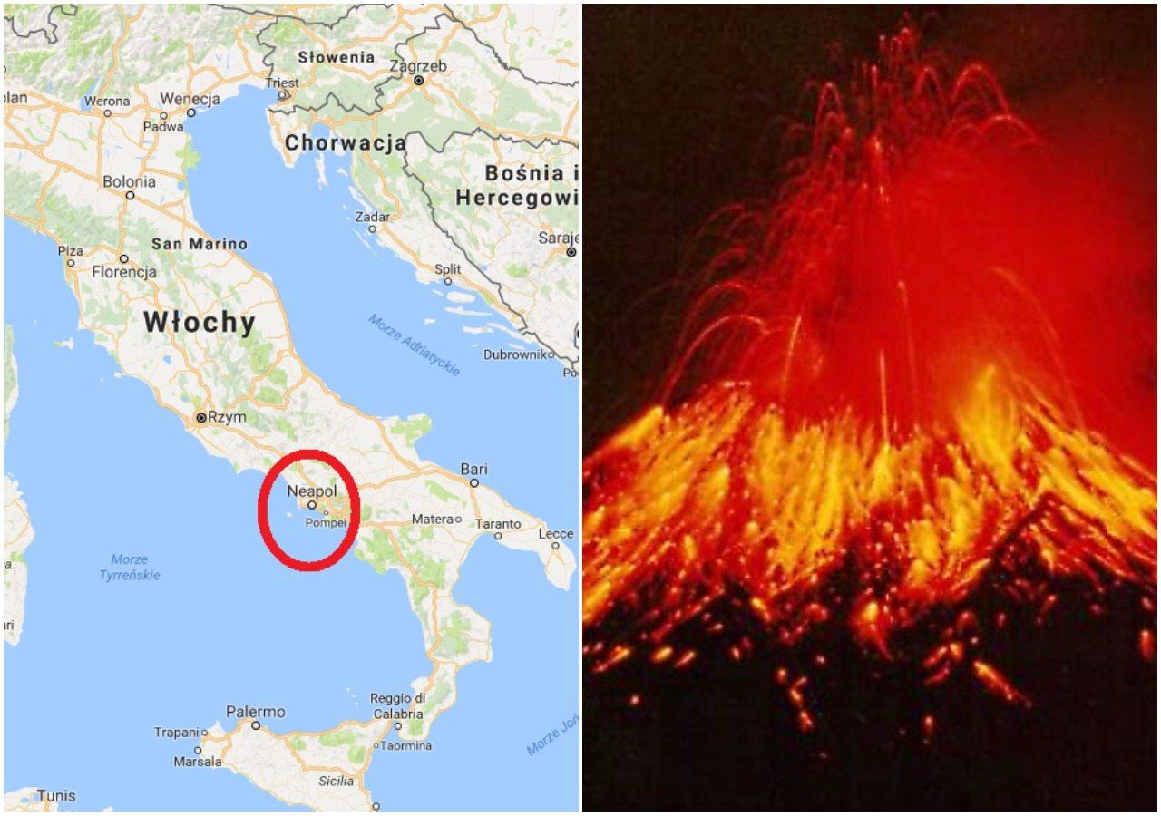 Włoskie władze alarmują: Po 40 tys. lat budzi się europejski superwulkan. Grozi wieloletnią zimą