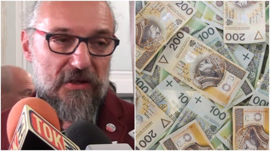 Spór w KOD-zie o wynagrodzenie. Kijowski chce pieniędzy jak panicz