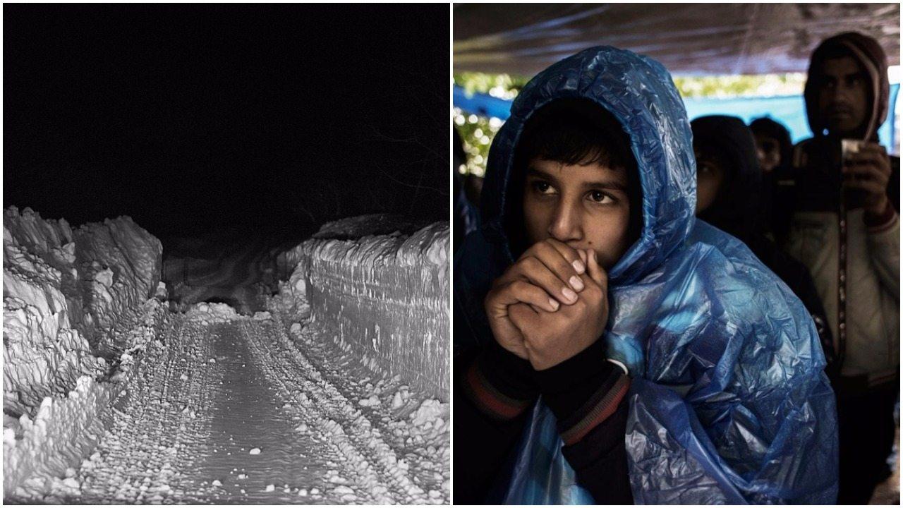 Europejska zima masowo zabija imigrantów