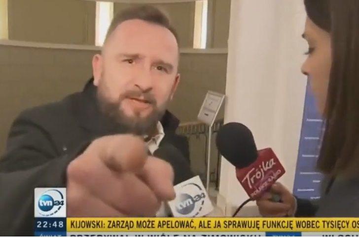 """Liroyowi puściły nerwy w TVN24. """"Ściągnijmy z Izraela, sprzedajmy Polskę"""" (video)"""