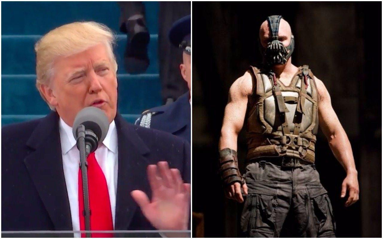 """Czy Trump w swoim przemówieniu skopiował mowę złoczyńcy z """"Batmana""""? Oceńcie sami (VIDEO)"""