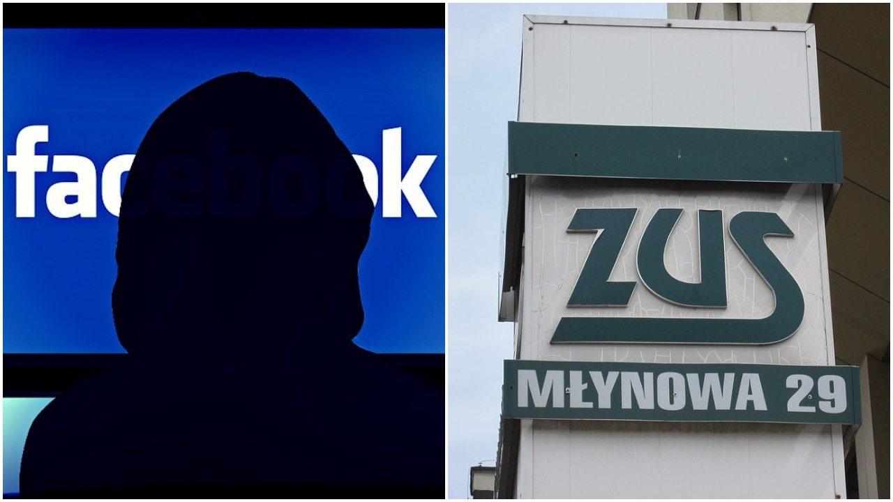 ZUS kontroluje Cię na Facebooku. Oto dowód