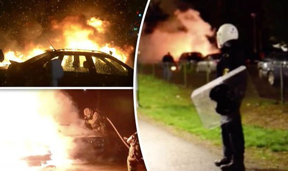 Tragiczna sytuacja w szwedzkim Malmo (VIDEO+FOTO)