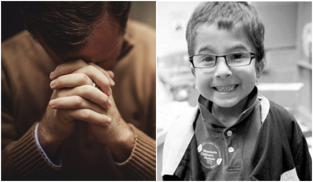 7-latek zmarł bo rodzice leczyli go modlitwą