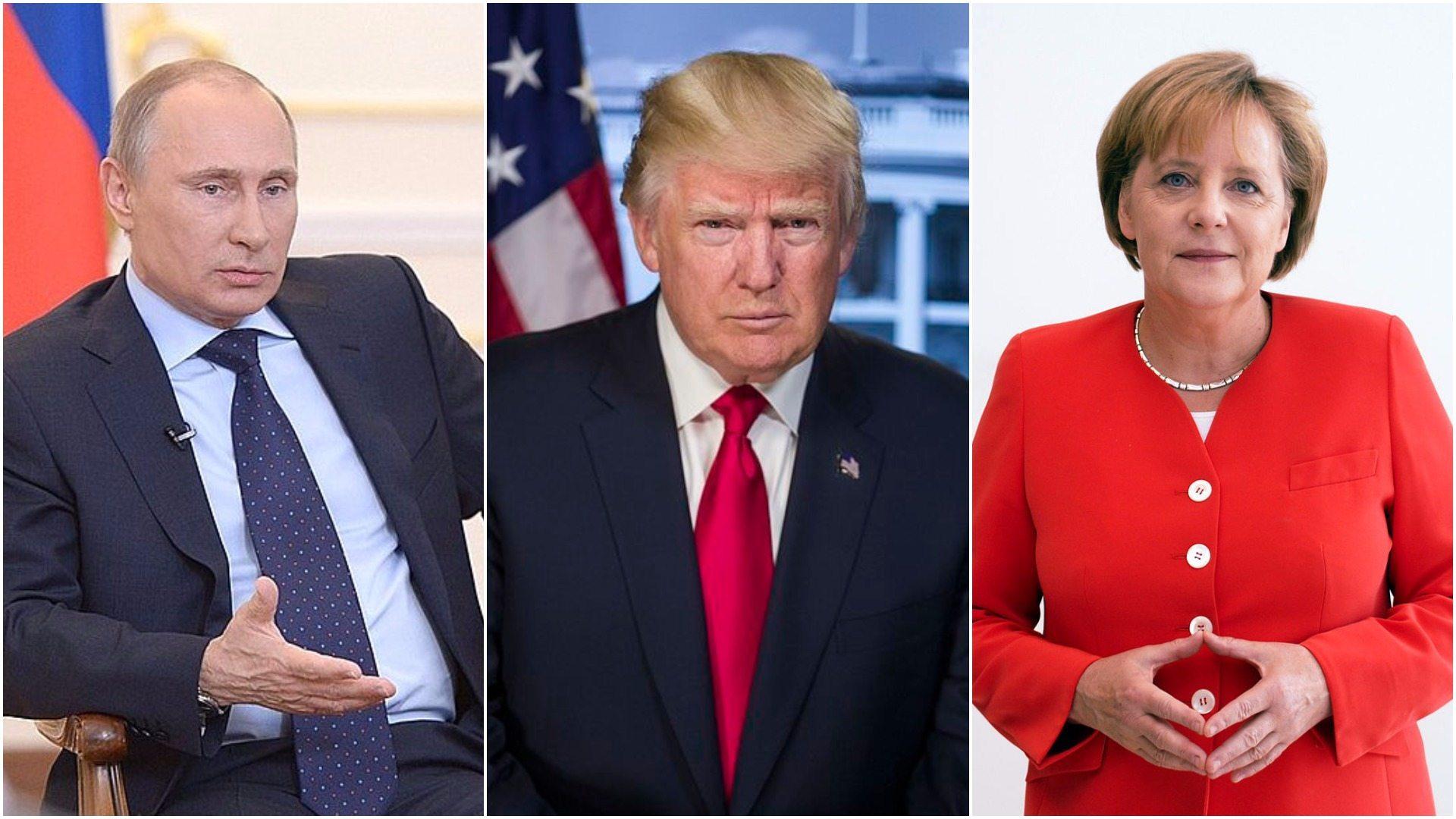 Trump rozmawiał z Putinem i Merkel. Wiemy o czym