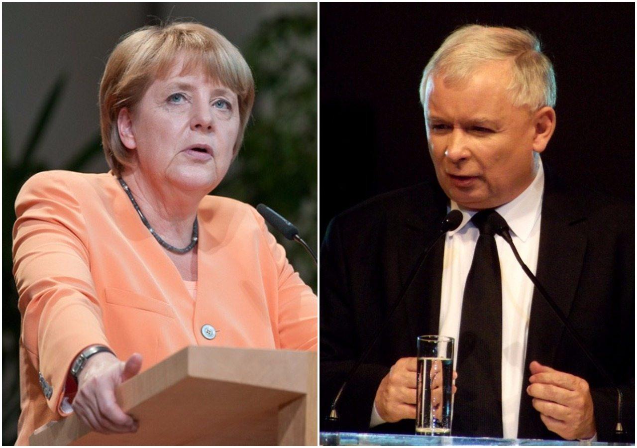 Merkel spotka się nieoficjalnie z Kaczyńskim. Wiemy o czym będą rozmawiać