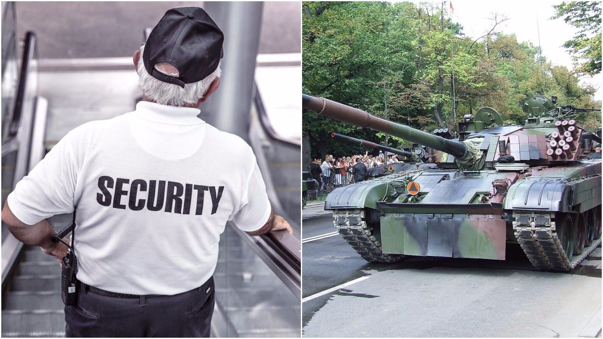 To jakiś żart? W Toruniu wojskowy oddział ochraniali wartownicy... bez broni