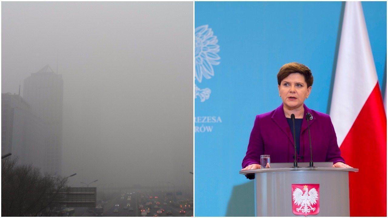 Jest odpowiedź rządu na okropny smog. Oto jak będą z nim walczyć