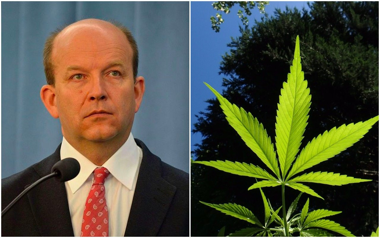 Wojna z leczniczą marihuaną może skończyć się dla ministra Radziwiłła tragicznie