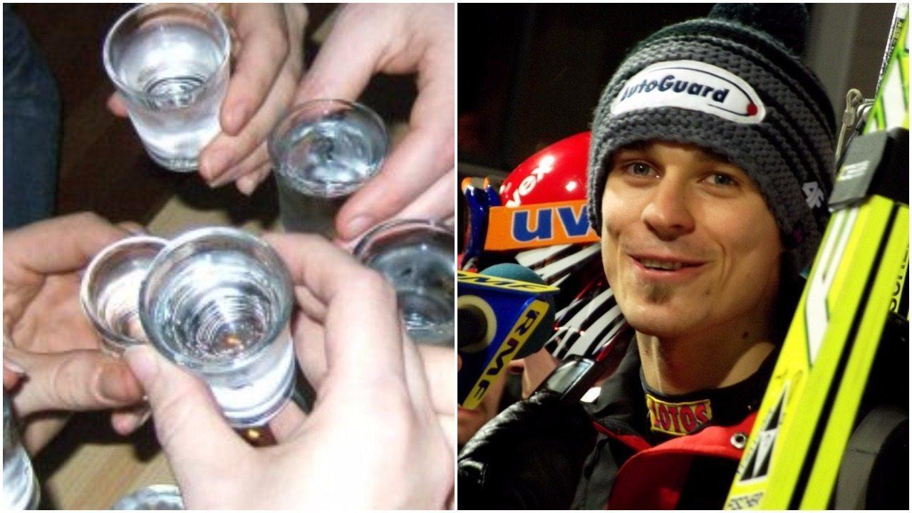 Piotr Żyła opowiada jak podczas Pucharu Kontynentalnego skakał po alkoholu (VIDEO)