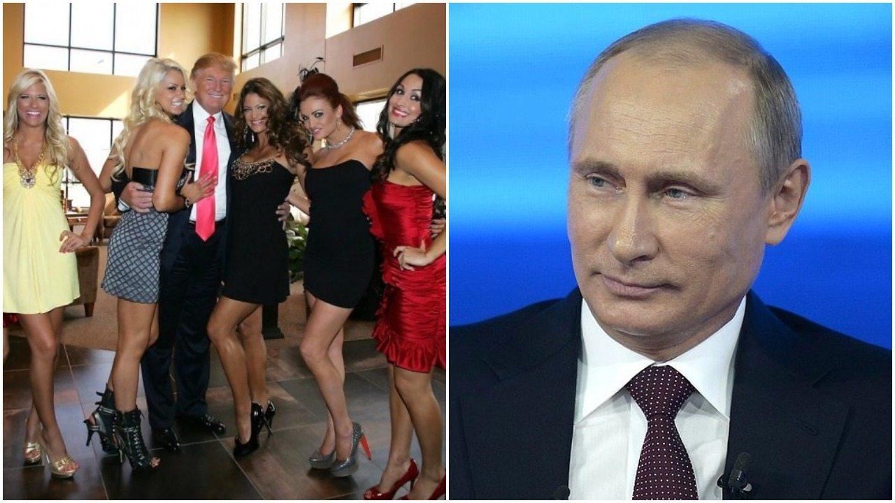 """Słowa Putina o seksie Trumpa z rosyjskimi prostytutkami podbijają sieć. """"Są najlepsze"""""""