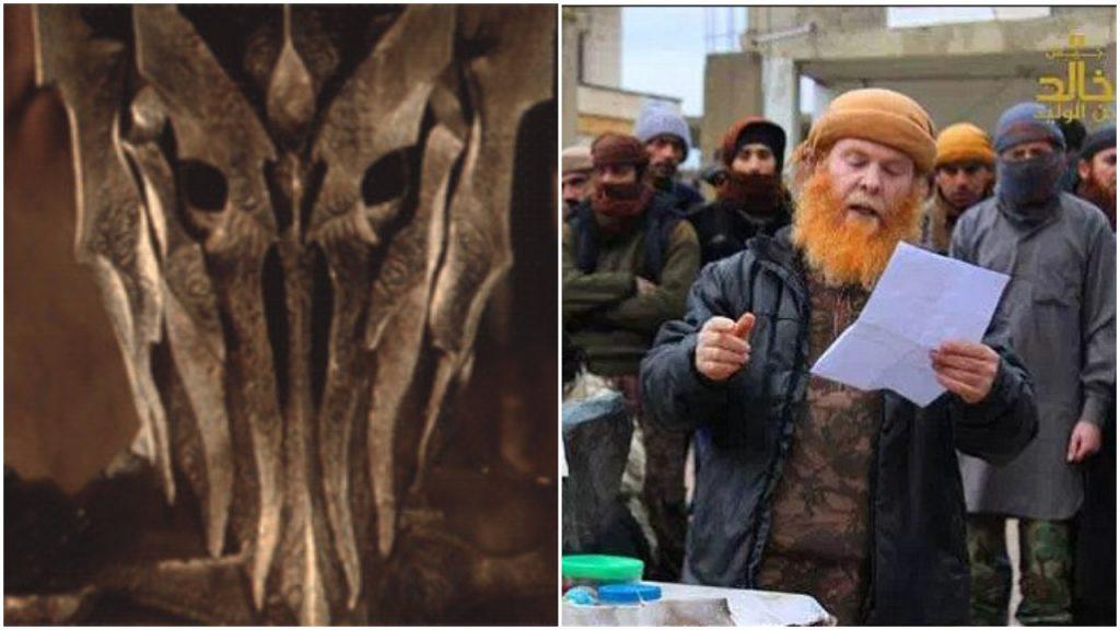 """Barbarzyńcy! Rudy z ISIS z bandą ścięli dziadka. """"To potężny, mroczny czarodziej"""" (FOTO)"""