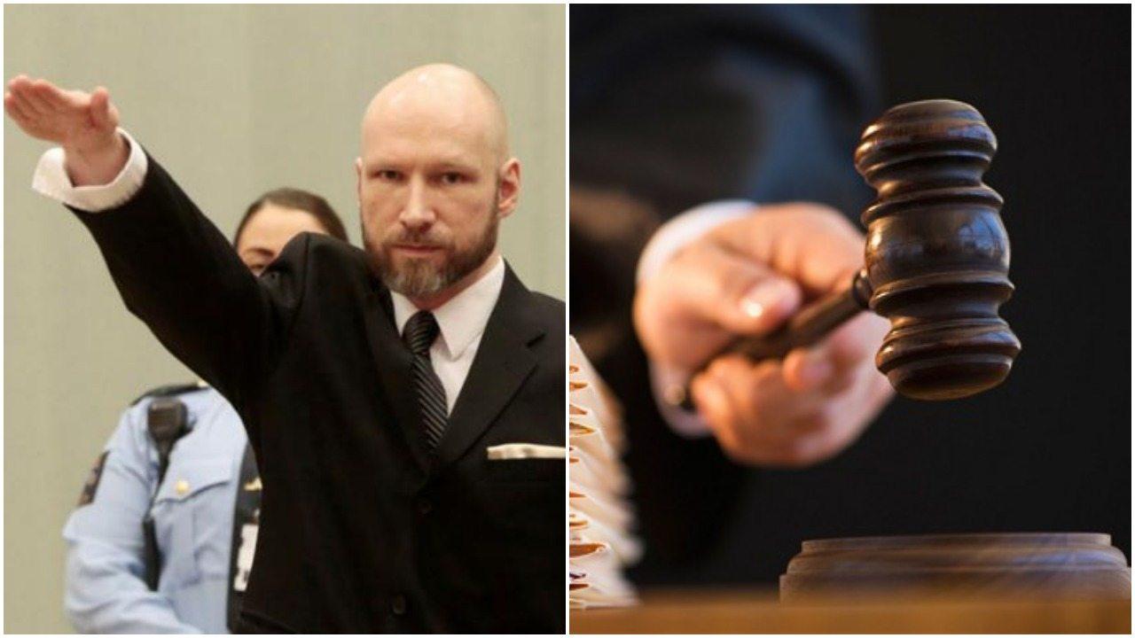 """Breivik znów w sądzie. Morderca hajluje i skarży się na """"nieludzkie warunki"""""""