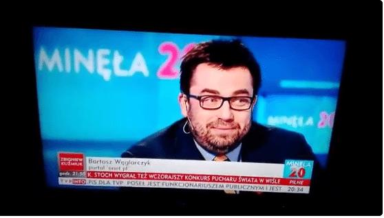 Pogrzebowa atmosfera. Węglarczyk w TVP wyciągnął WOŚP zamiast ślizgawicy i zrobiło się niemiło (Video)