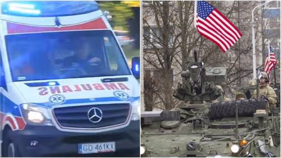 Rozbite samochody i ranni Polacy. Kolejne kłopoty z amerykańską armią w Polsce