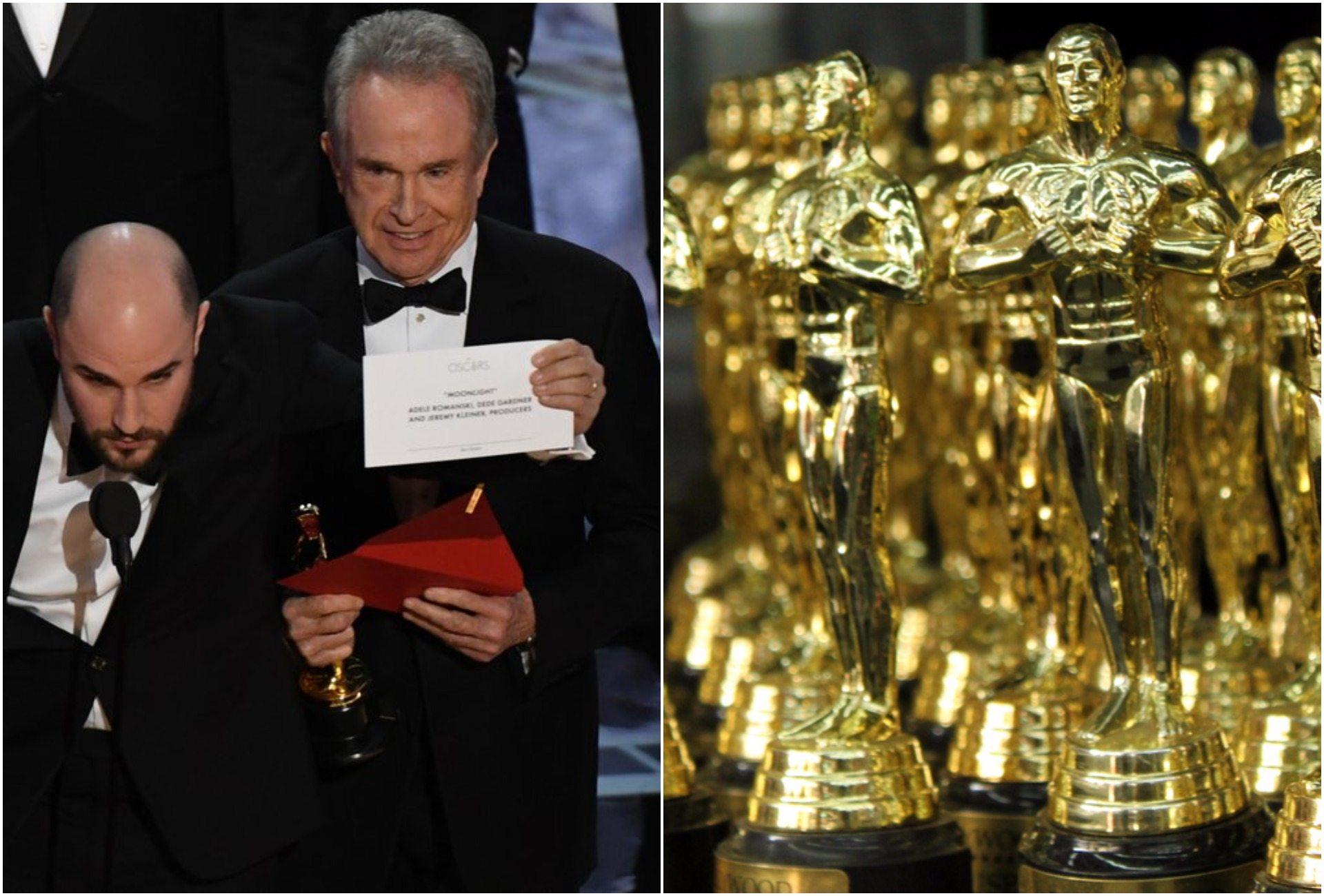 Kuriozalna pomyłka na rozdaniu Oscarów. Czegoś takiego nie było w historii nagród (video)