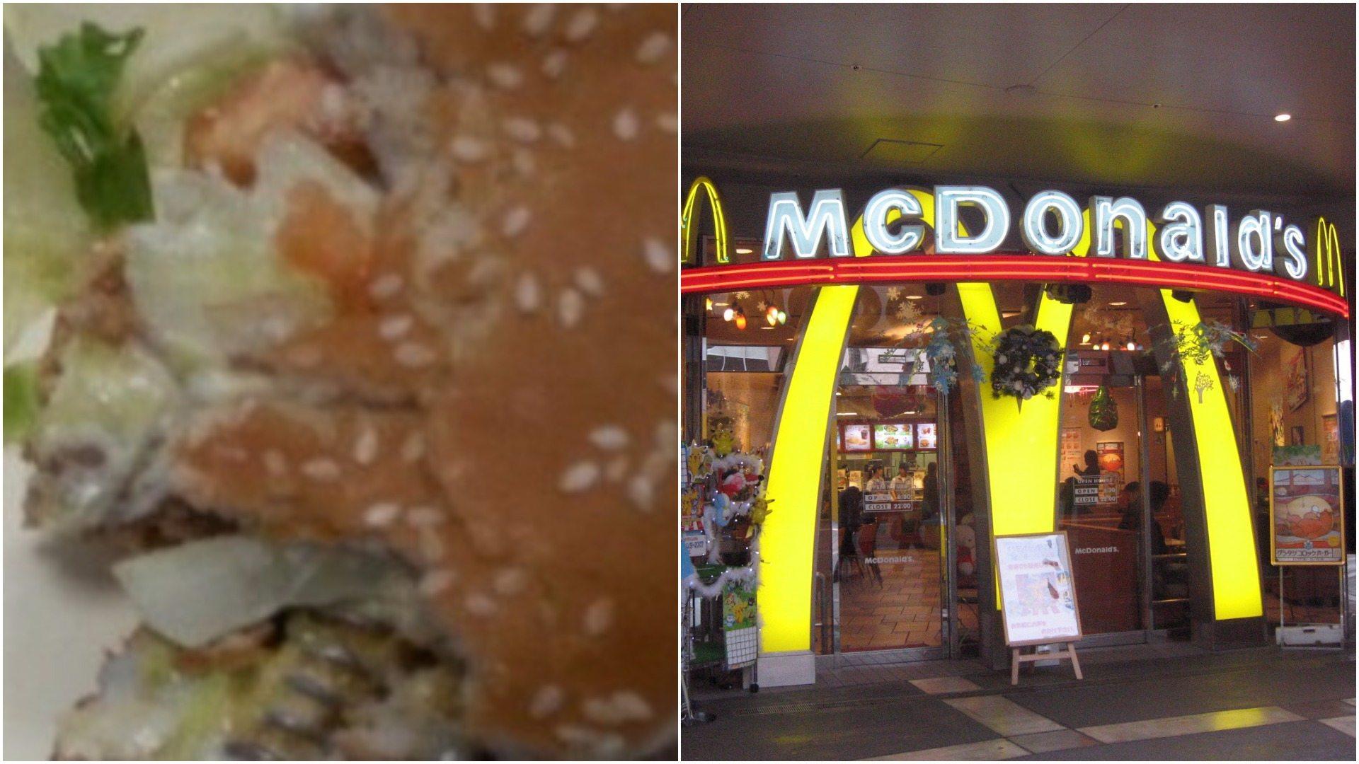 Warszawa: Skandal w McDonalds, połamał zęby na kanapce. Koszmarny błąd (foto)