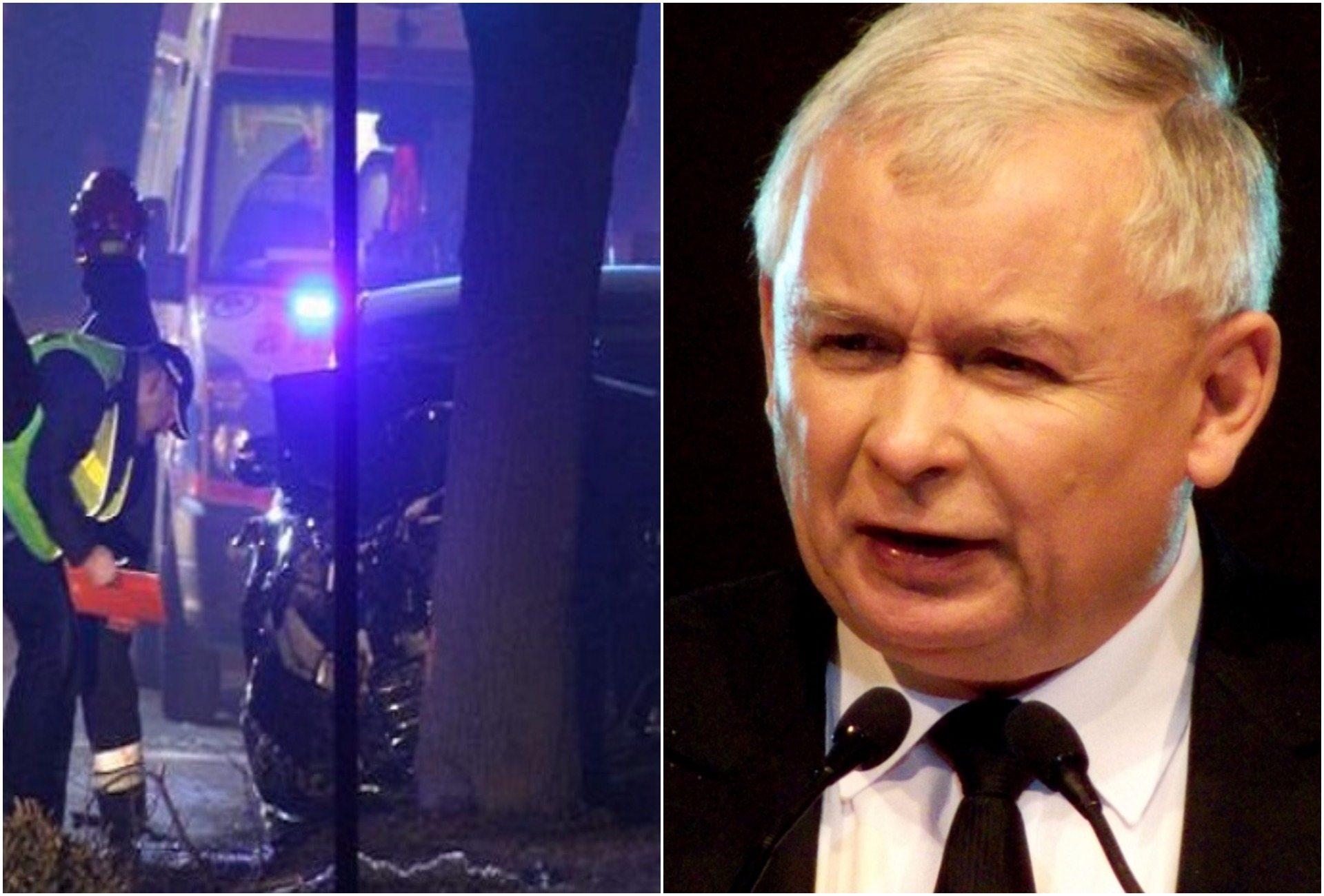 Prezes PiS: Premier Szydło została poważnie poszkodowana