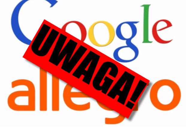 """Pod żadnym pozorem nie wpisuj dziś """"Allegro"""" w wyszukiwarkę Google!"""