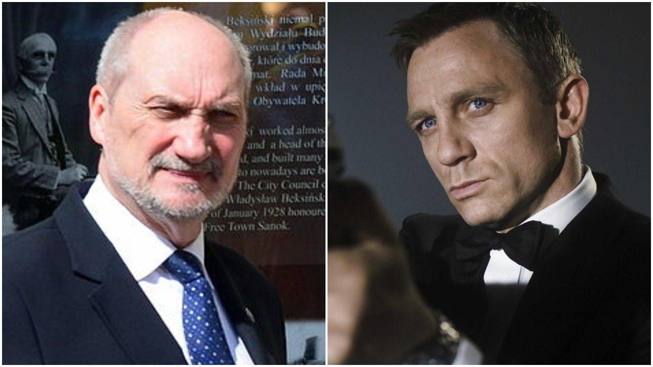Macierewicz zamówił długopisy jak z Jamesa Bonda. Za 83 000 zł. Po co?