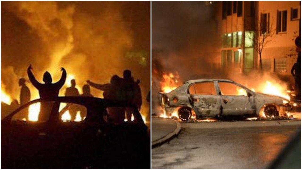 Zamieszki w Szwecji. Policja użyła przemocy