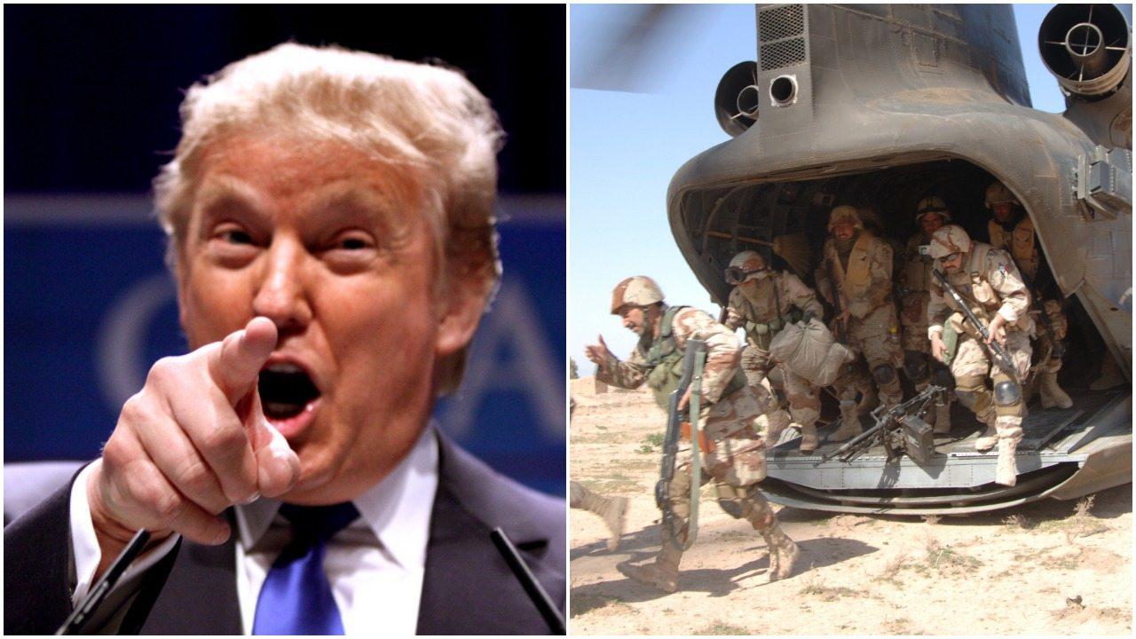 Coraz ostrzej. Trump grozi wysłaniem wojsk do Meksyku!
