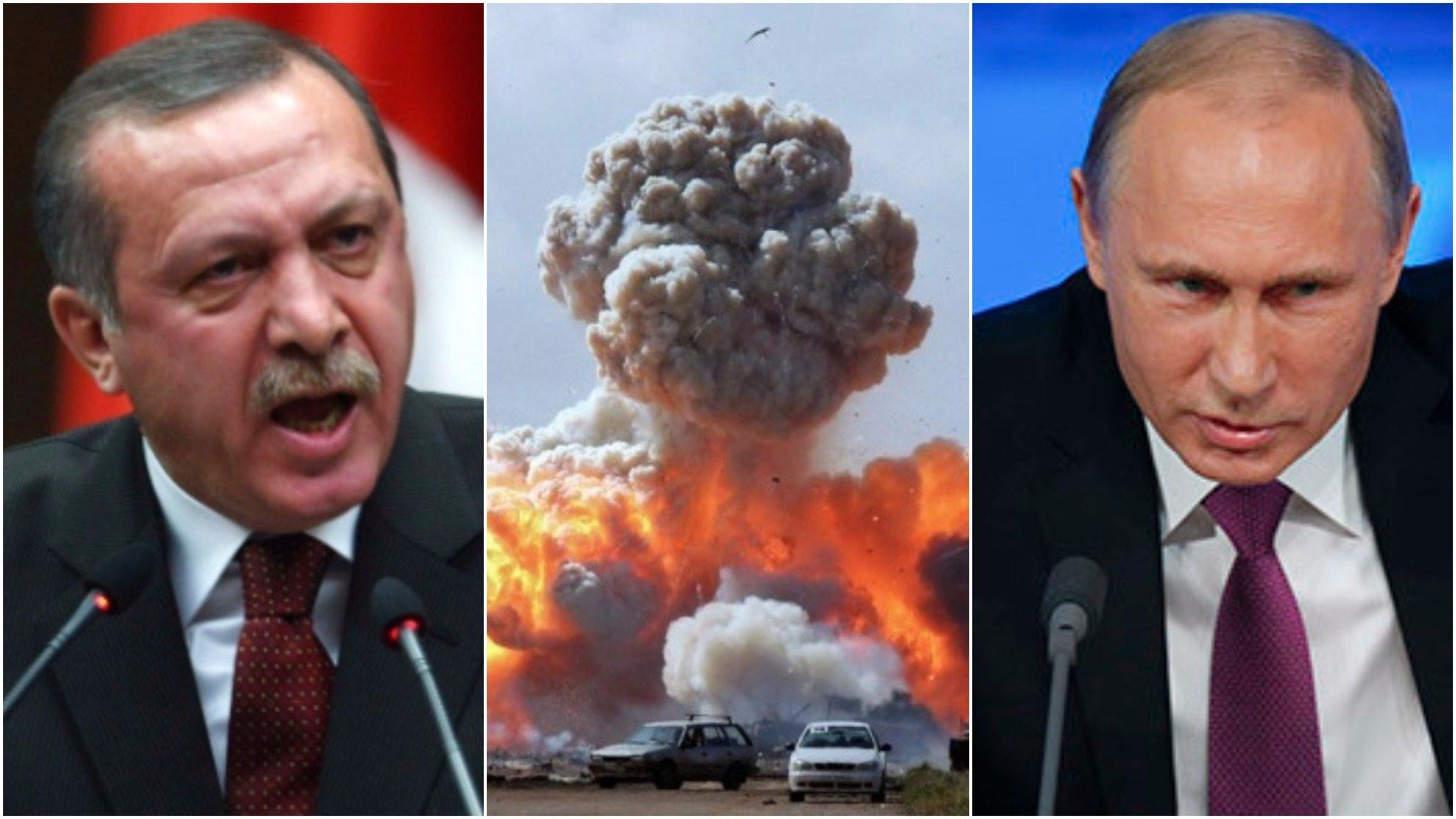 Rosjanie ZABILI tureckich żołnierzy. Putin już w akcji