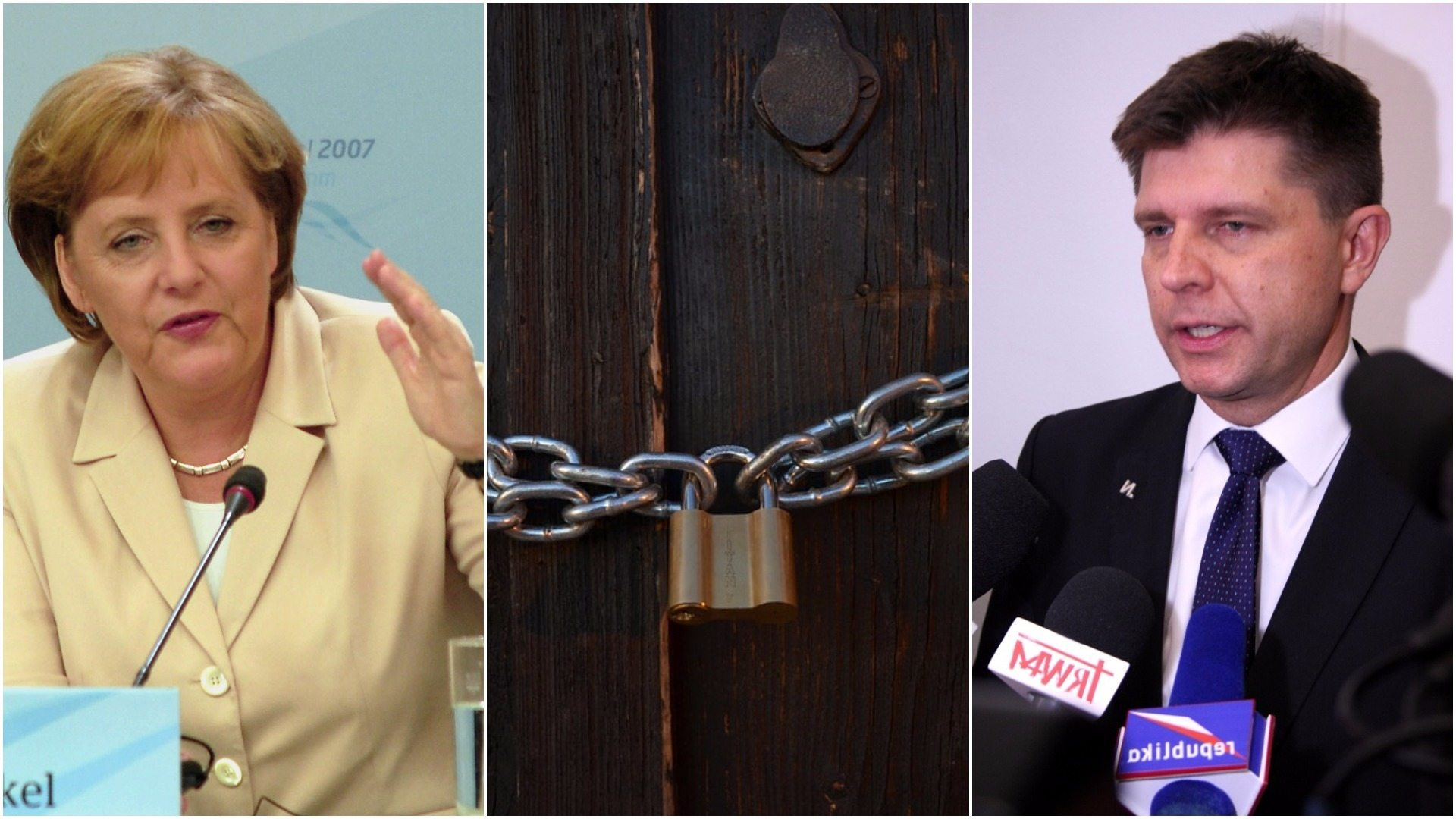 Petru obrażony. Merkel wyrzuciła go za drzwi